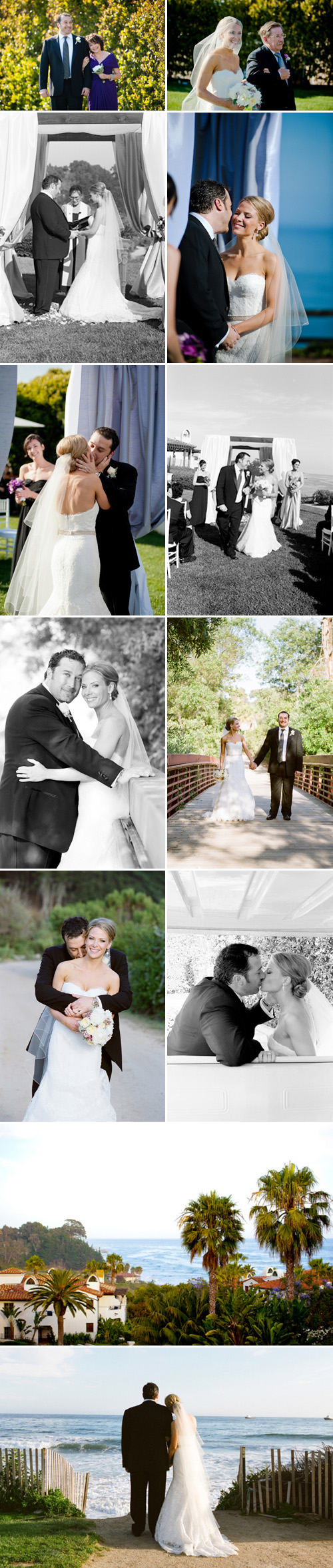 Santa Barbara, California wedding at the Bacara Resort by Yvette Roman Photography and La Fete Weddings