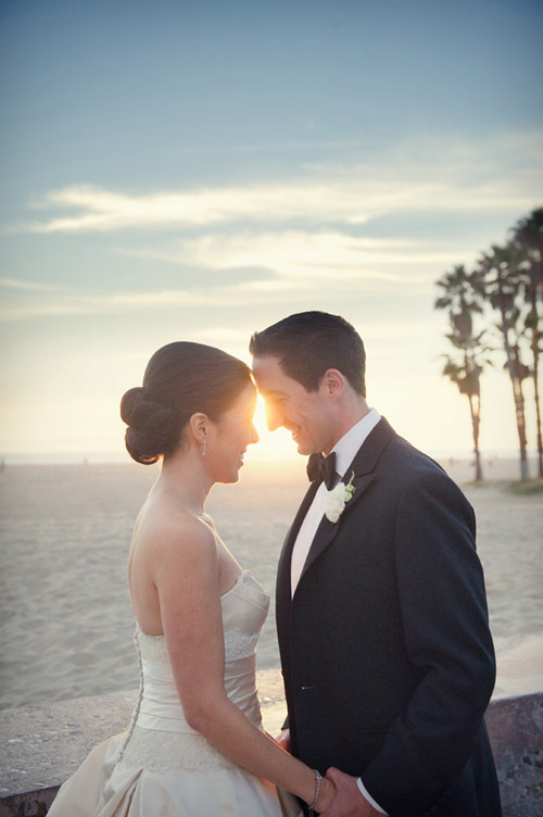 classic and elegant real wedding at Shutters on the Beach in Santa Monica, California, photography by Boutwell Studio