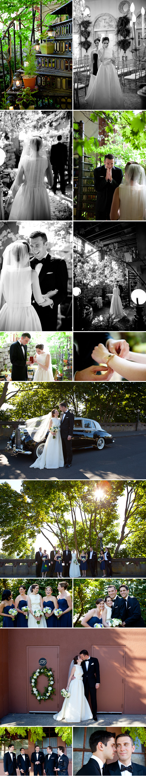 Wedding at The Ruins, photos by La Vie Photography