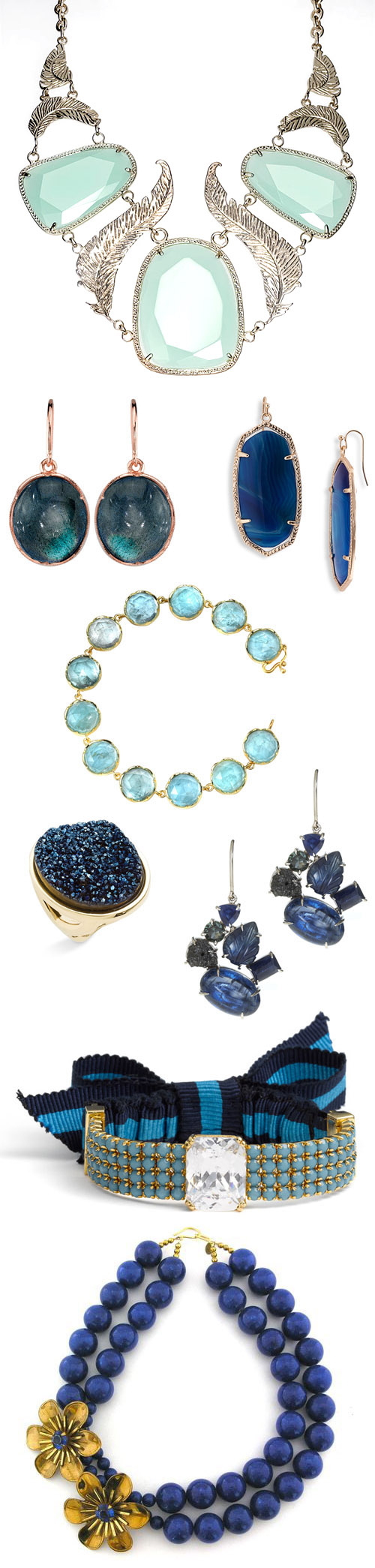 something blue wedding jewelry and accessories