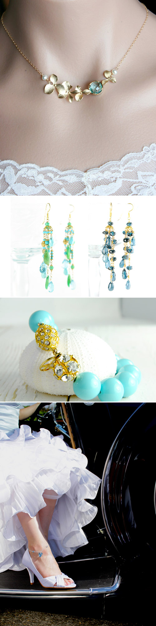 Wedding Jewelry As Your Something Blue Junebug Weddings