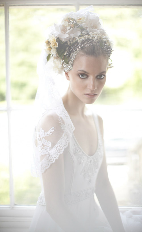 Temperley London bridal collection, romantic vintage inspired wedding dresses