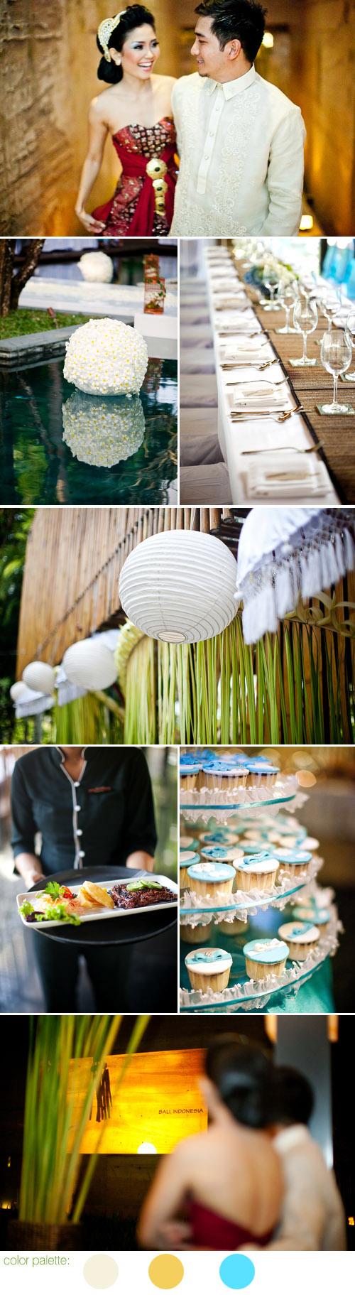 Traditional Indonesian Wedding In Bali Junebug Weddings