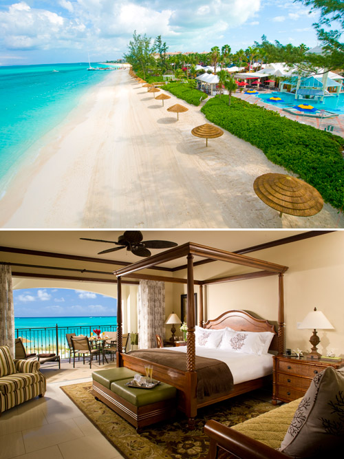 Turquoise water, soft white sand beach and beautiful suites - Beaches Resort Turks and Caicos with destination wedding packages from Martha Stewart Weddings