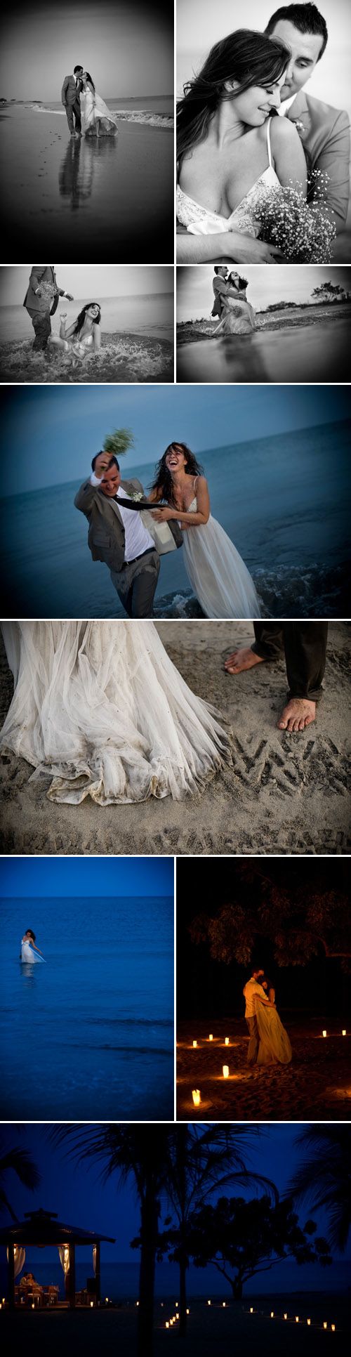 unique destination elopement at Nikki Beach Resort, Playa Blanca, Panama photography by Davina plus Daniel