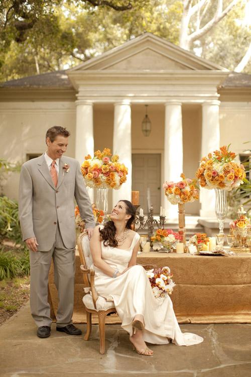 White Cream And C Wedding Decor Inspired By Interior Design Moody Estate In Santa