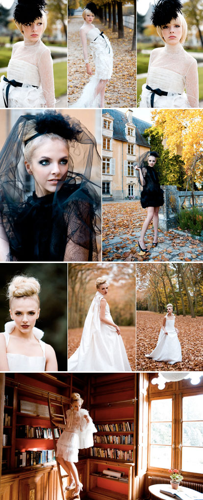 Madina Vadache Couture in Paris, France, images by La Vie Photography