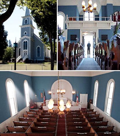 St. Pauls Church in Port Gamble, Washington