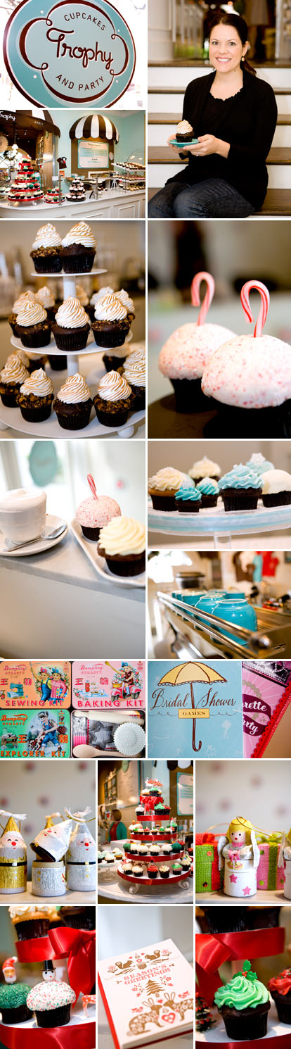 Trophy Cupcakes, gourmet cupcakes for Seattle weddings, parties and events, images by Junebug Weddings