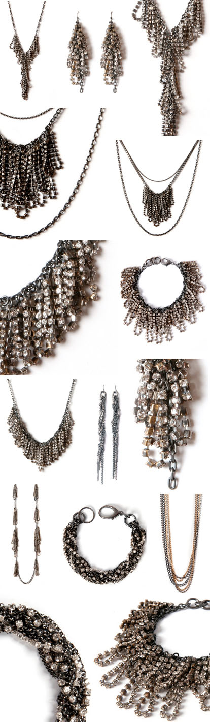 vintage rhinestone wedding jewelry from Winifred Grace