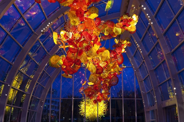 chihuly garden and glass - wedding venue