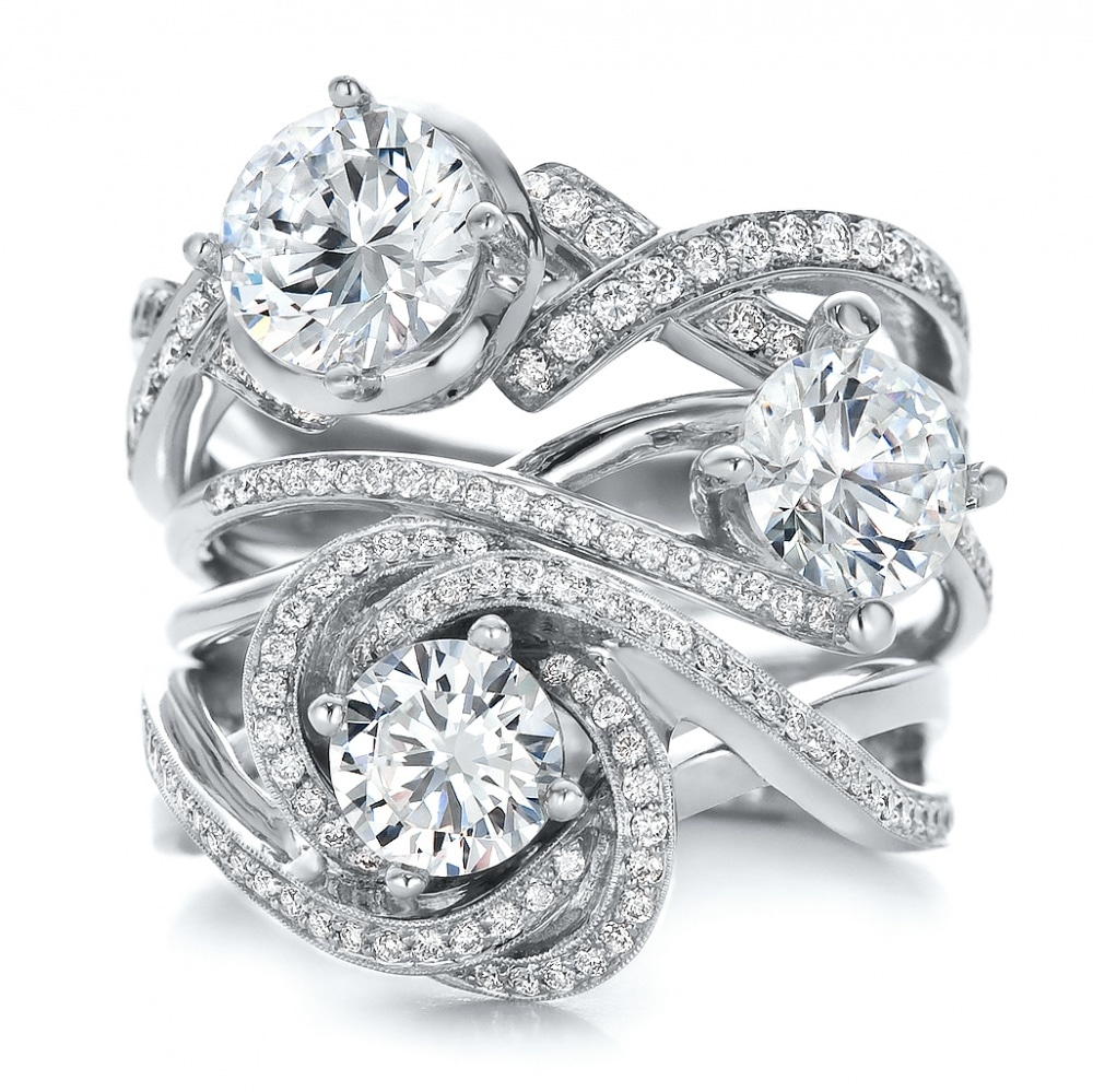 Or Choose From The Northwest's Widest Selection Of Fine, Custom Jewelry,  Custom Bridal Jewelry And More