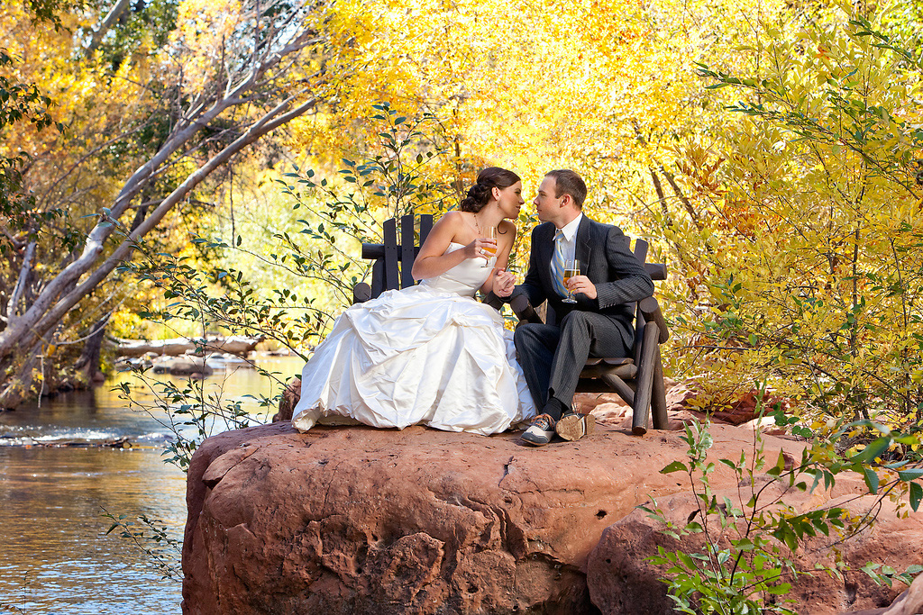 L\'Auberge de Sedona - wedding venue - Sedona, Arizona | Junebug Weddings