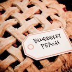 dessert pie with a handwritten tag - music inspired DIY wedding - photos by top Orange County, CA wedding photographers Viera Photographics