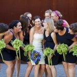 Summer Seattle wedding photo by La Vie Photography