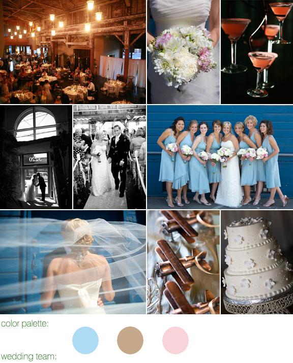 Junebug Real Weddings: Real Weddings, Real Wedding, Seattle, Sodo Park, Pink