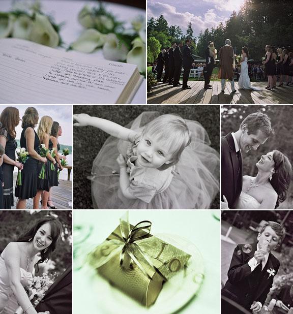 Real Weddings, Real Wedding, Kiana Lodge, Cheri Pearl