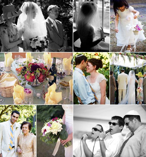 Junebug Real Weddings: Real Weddings, Real Wedding, Jewish Orthodox Wedding, La