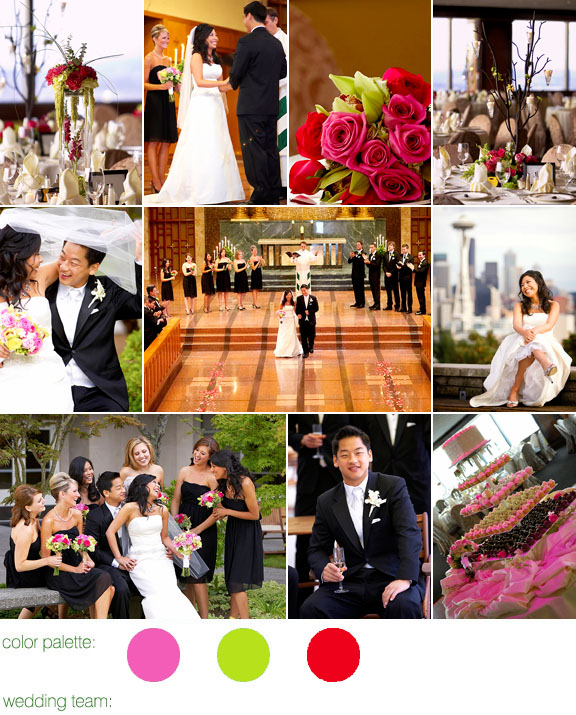 Junebug Real Weddings: Real Weddings, Real Wedding, Seattle, Columbia Tower Club