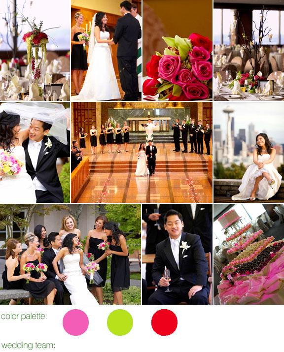 Real Weddings, Real Wedding, Seattle, Columbia Tower Club