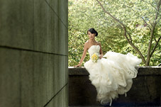 Beautiful bridal portraits by Seattle wedding photographer - John Chin