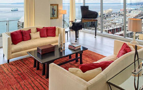 Four Seasons Hotel, Seattle, Washington, luxury hotel and spa