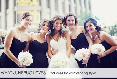 What Junebug Loves - wedding planning ideas for brides with serious personal style - photo by Tinywater Photography