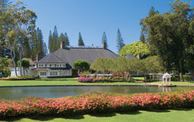The Lodge at Keole, Lanai, Hawaii romantic honeymoon hotel