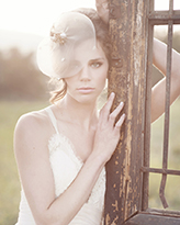 romantic bridal portrait by Santa Barbara based wedding photographer KLK Photography