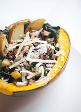 Butternut squash with autumn vegetables - organic menus by Portage Bay Cafe and Catering