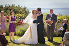 Puget Sound wedding ceremony performed by Seattle officiants - Forever, Together