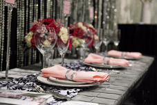 Beautiful table top decor from Platinum Designs - Seattle - photo by Azzura Photography
