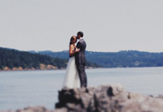 Romantic wedding video by Seattle videographer - Cabfare Productions
