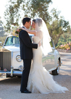 intimae wedding at Villa Sevillano, Santa Barbara, CA with photos by Melissa Musgrove Photography