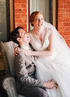 pretty wedding in York, Australia, with photos by Ben Yew Photography