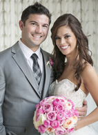 elegant wedding at the Arctic Club in Seattle with photos by Alante Photography