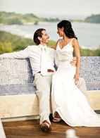 Wedding in Costa Rica at Villa Punto De Vista with photos by A Brit and a Blonde Photography