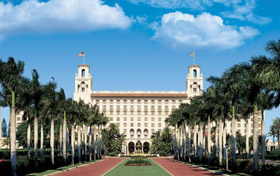 The Breakers Palm Beach, Florida, romantic honeymoon destination