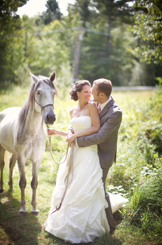 Jessica and Truly's Real Wedding photographed by Sarah DiCicco Photography