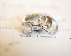 Waitsfield, Vermont Real Wedding photographed by Sarah DiCicco Photography
