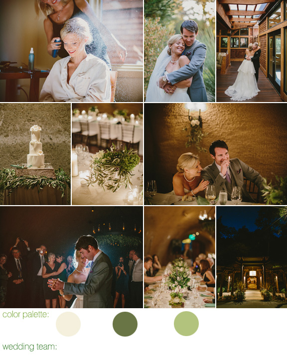 elegant vineyard wedding at Calistoga Ranch, CA - photos by Perspective Eye