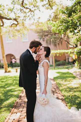 Classic, romantic and vintage wedding in Historic St Augustine Florida, photos by La Dolce Vita Studios