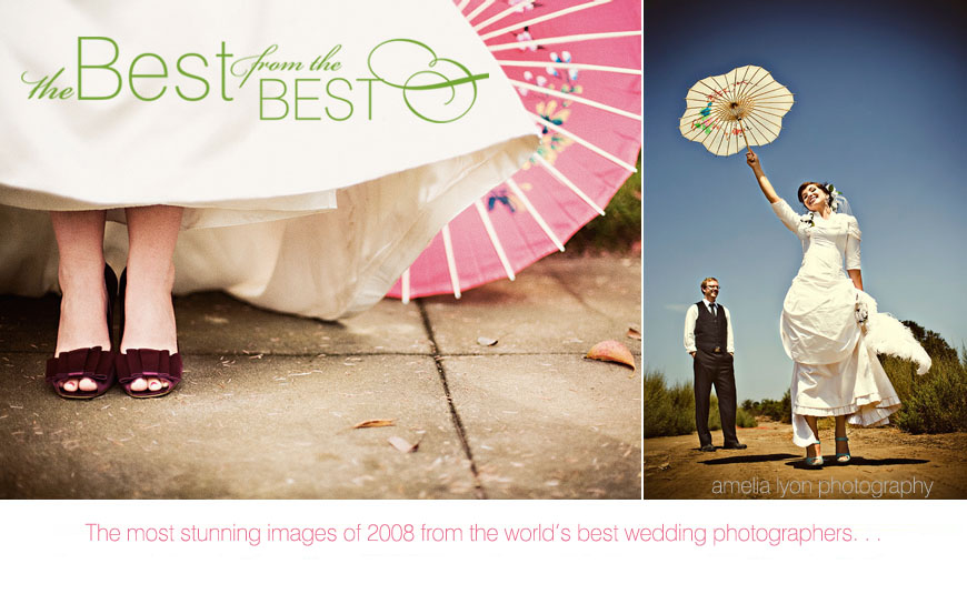 The world's best wedding images of 2008 - Amelia Lyon Photography
