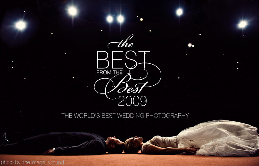 Junebug Weddings' 2009 Best from the Best, the top wedding photography of 2009, photo by The Image Is Found