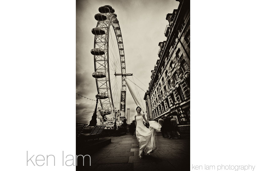 The best wedding photos of 2009, image by Ken Lam Photography