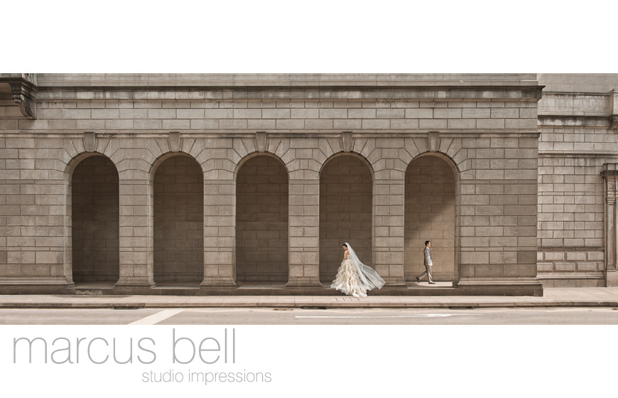 Best photo of 2011 - Marcus Bell Studio Impressions - top Brisbane, Australian and destination wedding photographer