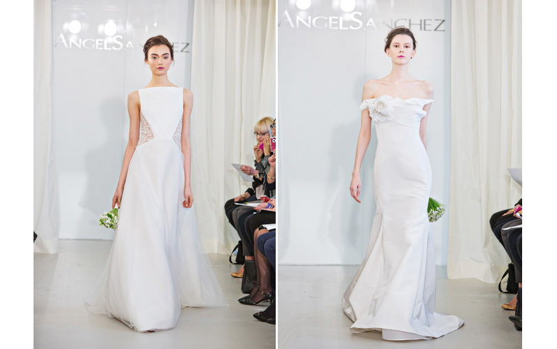 Wedding Dress Collections of Angel Sanchez of Spring 2014 with photos by Joy Marie Studios