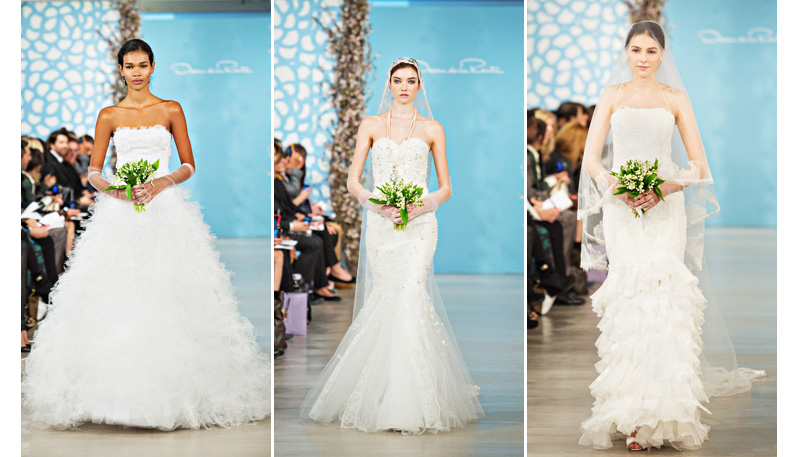 Wedding Dress Collection of Ines Di Santo of Spring 2014 with photos by Joy Marie Studios