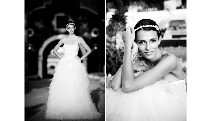 Meriah wedding gown by Monique Lhuillier,