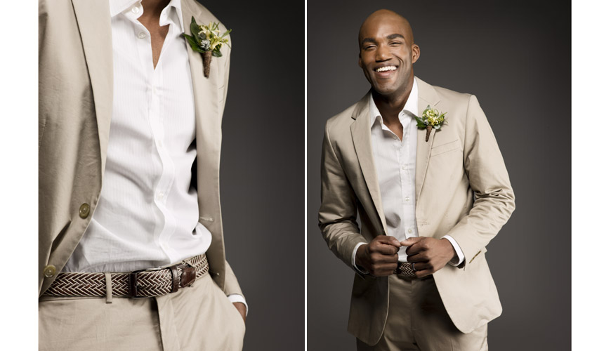 Wedding Wear For Mens : Appropriate wedding attire in the summer heat